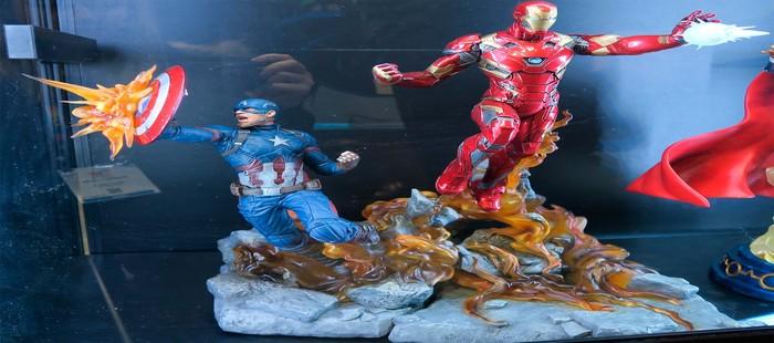 Los Vengadores 3: Nuevas figuras de Iron Man y Capitán América antes del primer tráiler