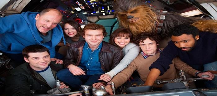 Star Wars Han Solo: Primera foto de grupo con el inicio del rodaje