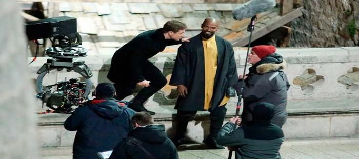 Robin Hood Origins: Primera imagen de rodaje con Jamie Foxx