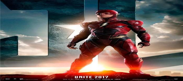 La Liga de la Justicia: Nuevo cartel con Flash como protagonista