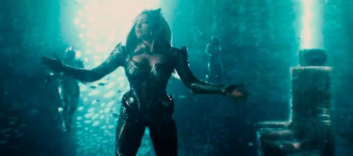 La Liga de la Justicia: Primera imagen de Amber Heard como Mera