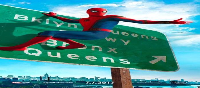 Spiderman Homecoming: Peter Parker de camino a Queens en nuevo cartel
