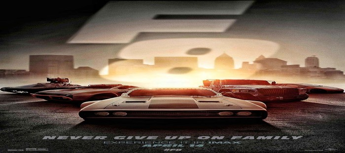 Fast and Furious 8: Nuevo cartel de la esperada superproducción de acción