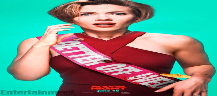 Una Noche Fuera de Control: Scarlett Johansson en nuevo cartel de personaje