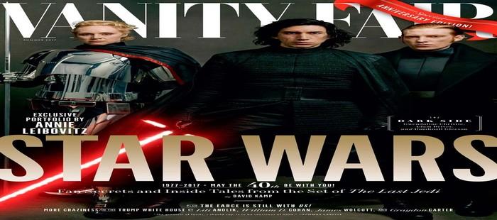 Star Wars Episodio 8: Nueva portada con el Lado Oscuro de la Fuerza