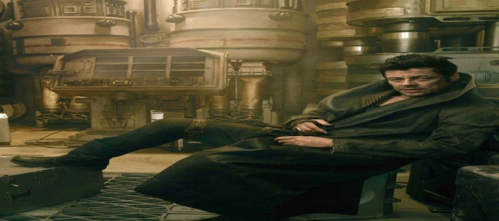 Star Wars Episodio 8: Primera imagen de Benicio del Toro dentro de la película