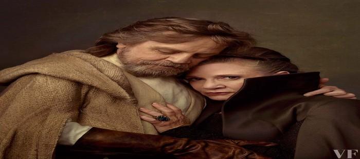 Star Wars Episodio 8: Nueva imagen de la película con Luke Skywalker y Leia