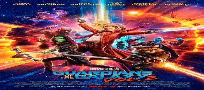 Guardianes de la Galaxia 2: Adelanta a Prometheus 2 en taquilla a la llegada de su cuarto fin de semana