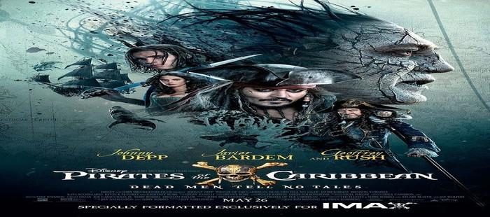 Piratas del Caribe 5: Encabeza los estrenos de cine de la semana en España