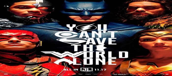 La Liga de la Justicia: Nuevo cartel de grupo presentado en la Comic Con 2017