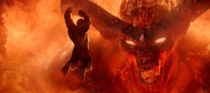 Thor 3: Nueva imagen de Hulk enfrentándose a Surtur