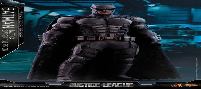 La Liga de la Justicia: La armadura de Batman en nueva figura de edición de coleccionista
