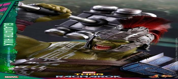 Thor 3: Hulk listo para el combate en nueva figura de edición de coleccionista