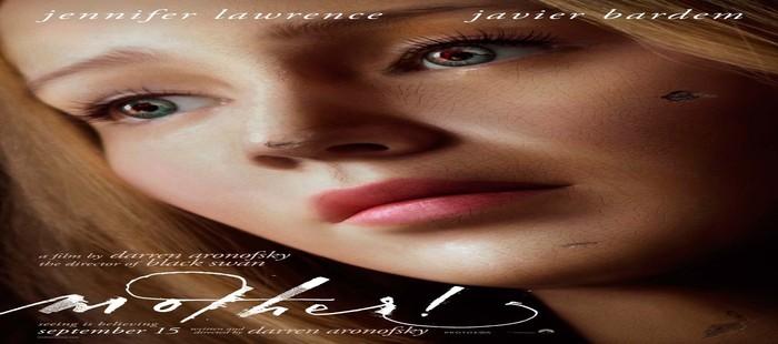 Madre: Primer plano de Jennifer Lawrence en nuevo cartel de la película