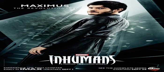 Inhumanos: Nuevo cartel con el actor Iwan Rheon en su llegada a Marvel