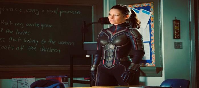 Ant Man 2: Nuevo vistazo al traje completo de la Avispa dentro de la secuela Marvel