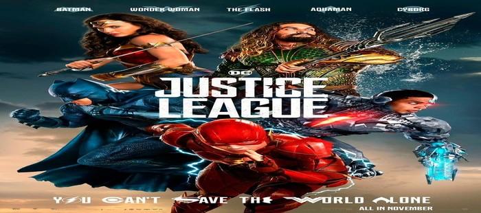 La Liga de la Justicia: Nuevo cartel con el grupo luchando unido