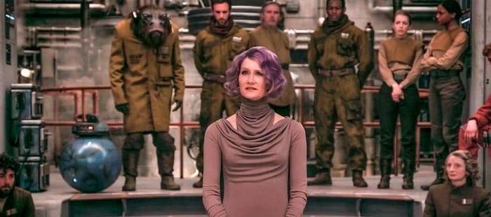 Star Wars Episodio 8: Primera imagen con Laura Dern