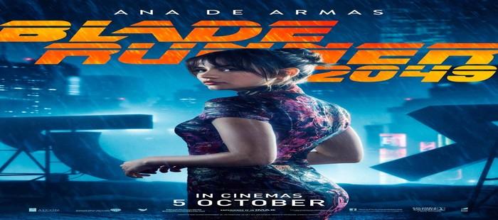 Blade Runner 2 se desploma en la taquilla de cine USA del viernes