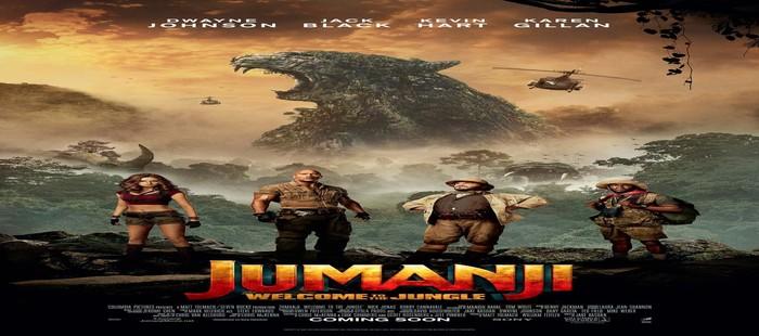 Jumanji: Sigue dominando la taquilla de cine USA en la tercera semana de 2018