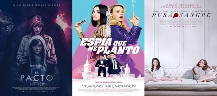 Estrenos España (17/08/2018) - Pacto de mujeres
