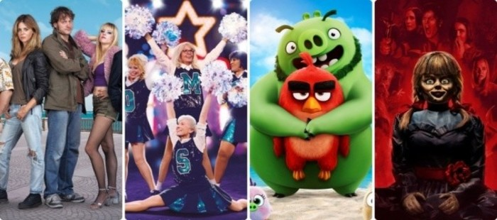 Carteles con Ñ: 'Antes de la quema', 'Mejor que nunca', 'Angry Birds 2: La película' o 'Annabelle vuelve a casa'
