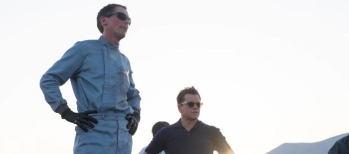 Christian Bale y Matt Damon en las primeras imágenes de 'Ford v. Ferrari'