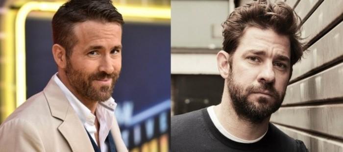 Ryan Reynolds y John Krasinski protagonizarán la comedia 'Imaginary Friends'