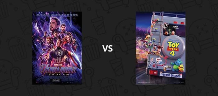 CdC 2019: SEXTOS III - Vengadores: Endgame Vs. Toy Story 4