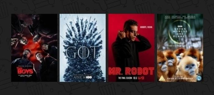 Mejor Serie de Televisión - XV Copa de Cine (2019)