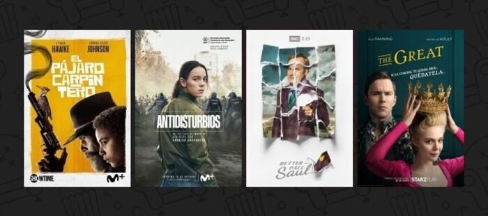 Mejor Serie de Televisión - XVI Copa de Cine (2020)