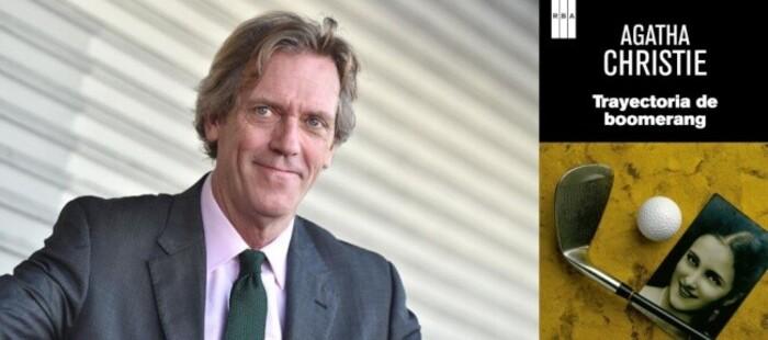 Hugh Laurie adaptará como serie limitada la obra de Agatha Christie 'La trayectoria del bumerán'